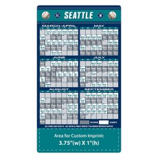 """Seattle Mariners Baseball Team Schedule Magnets 4"""" x 7"""""""