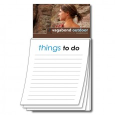 "Custom Business Card Magnet with ""Things To Do"" Notepad"