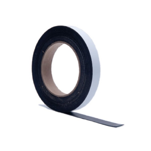 "1"" Magnetic Tape with White Vinyl"