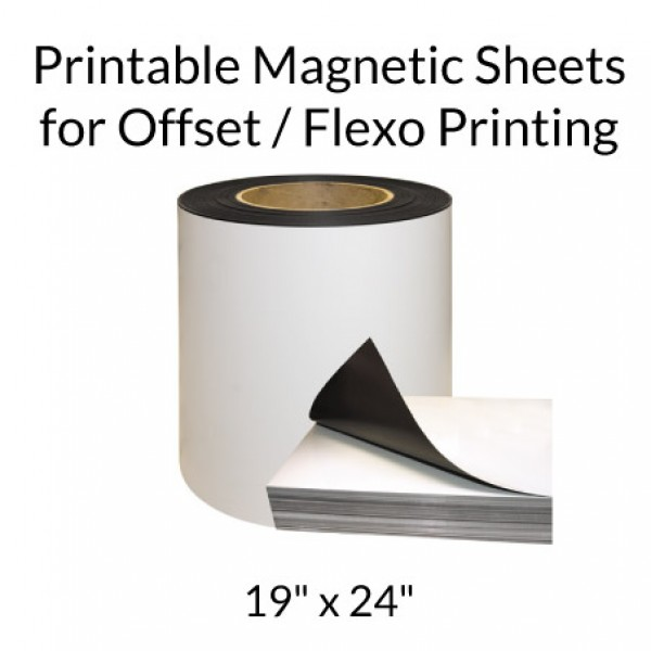 "19"" x 24"" Printable Magnetic Sheets for Offset / Flexo Printing"