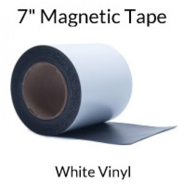 "7"" Magnetic Tape with White Vinyl"