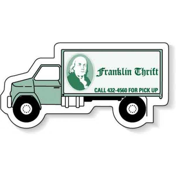 "Custom Delivery Truck Magnets - 3.125"" x 1.4375"""