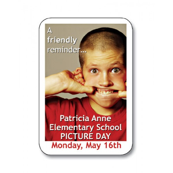 """Custom 1.875""""  x  2.75"""" Magnets - Personalized With Your Artwork"""