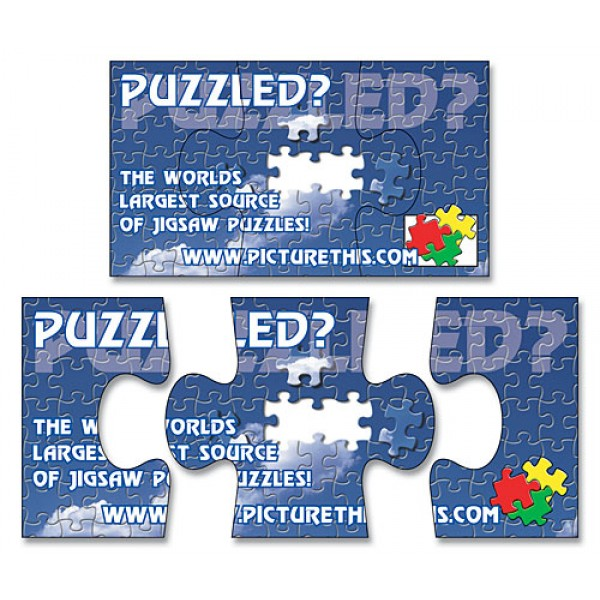"Custom 3-Piece Puzzle Magnets 3.5"" x 2"""