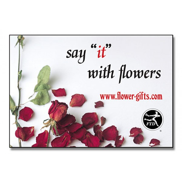 """Custom 2.75"""" x 4"""" Fridge Magnets - Personalized With Your Artwork"""