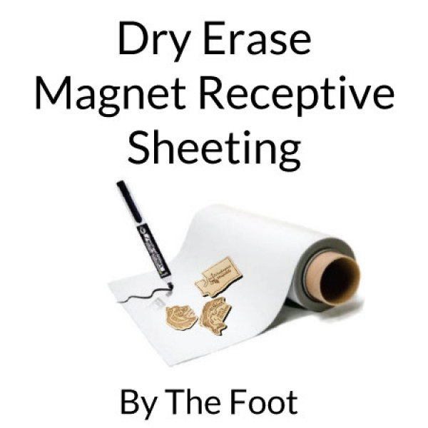 Dry Erase Magnet Receptive Sheeting By The Foot