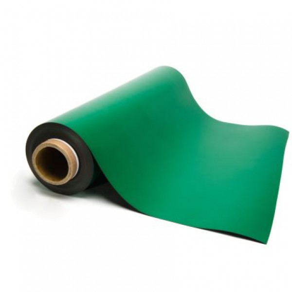 Green Magnetic Sheeting - By the Foot