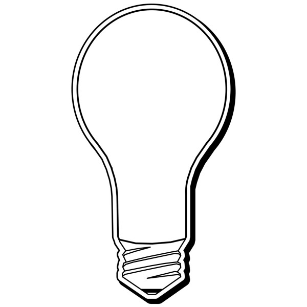 "Custom Light Bulb Shaped Magnets 2"" x 3.625"""