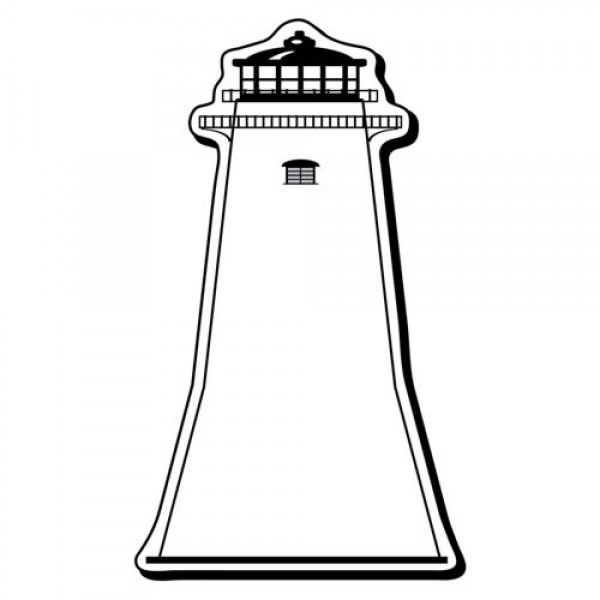 "Custom Lighthouse Shaped Magnets - 1.875"" x 3.375"""