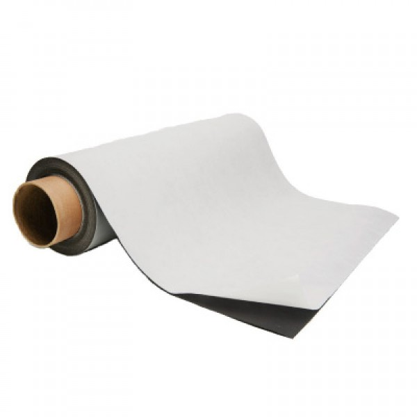 Flexible Magnetic Sheet with Outdoor Adhesive 50 ft. Rolls