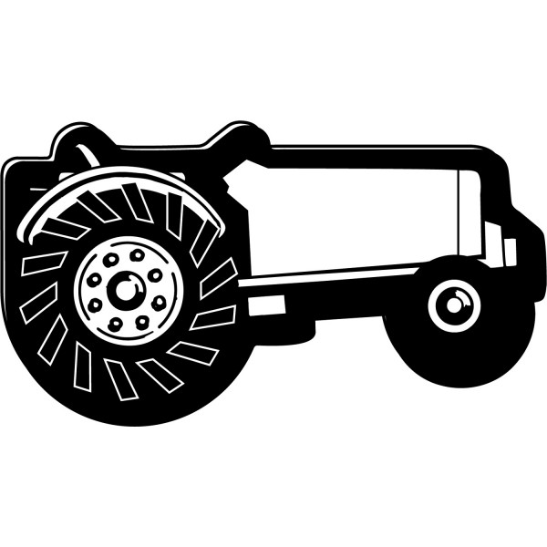 "Custom Tractor Shaped Magnets - 2"" x 3.6875"""