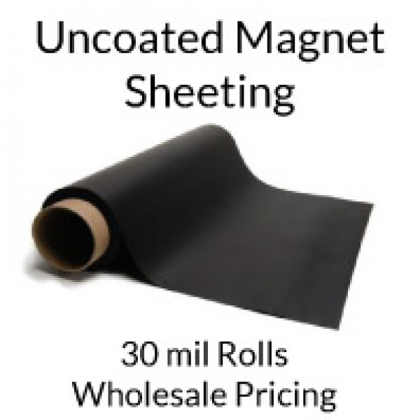 Uncoated Magnet Roll 30 mil x 50' - Bulk Pricing