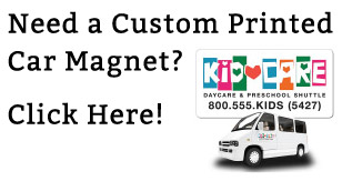 Need a Custom Printed Car Magnet? Click Here!